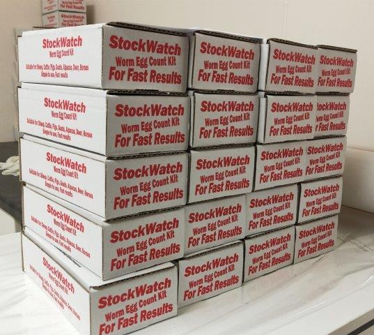 Stock Watch Lab Test Kit Boxes